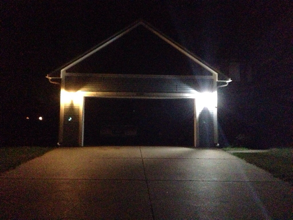 Garage exterior lighting my led house for Exterior led lights