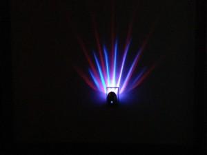 Meridian LED Projector Nightlight Blue Red