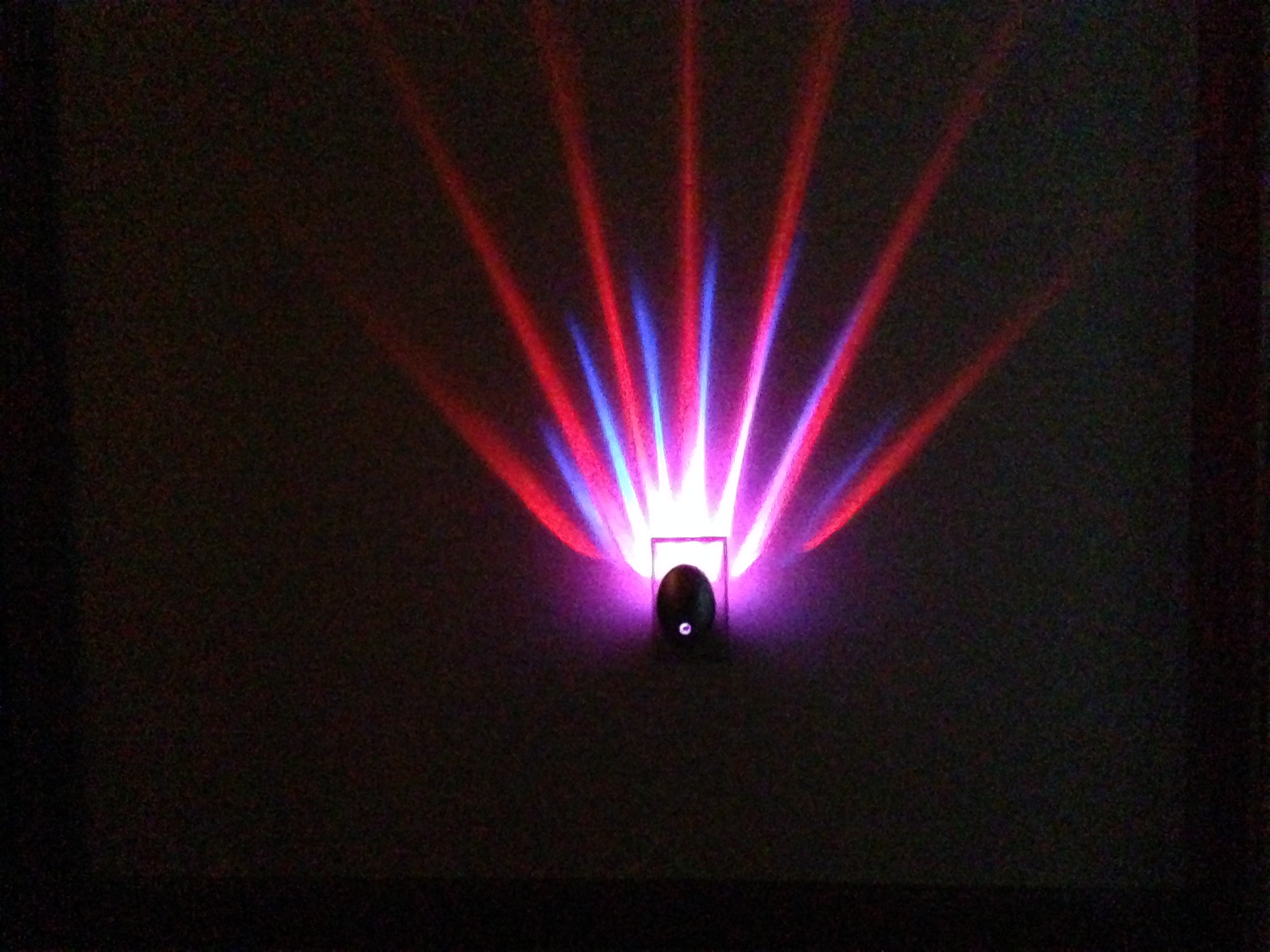 Meridian Led Projector Nightlight Red Blue My Led House