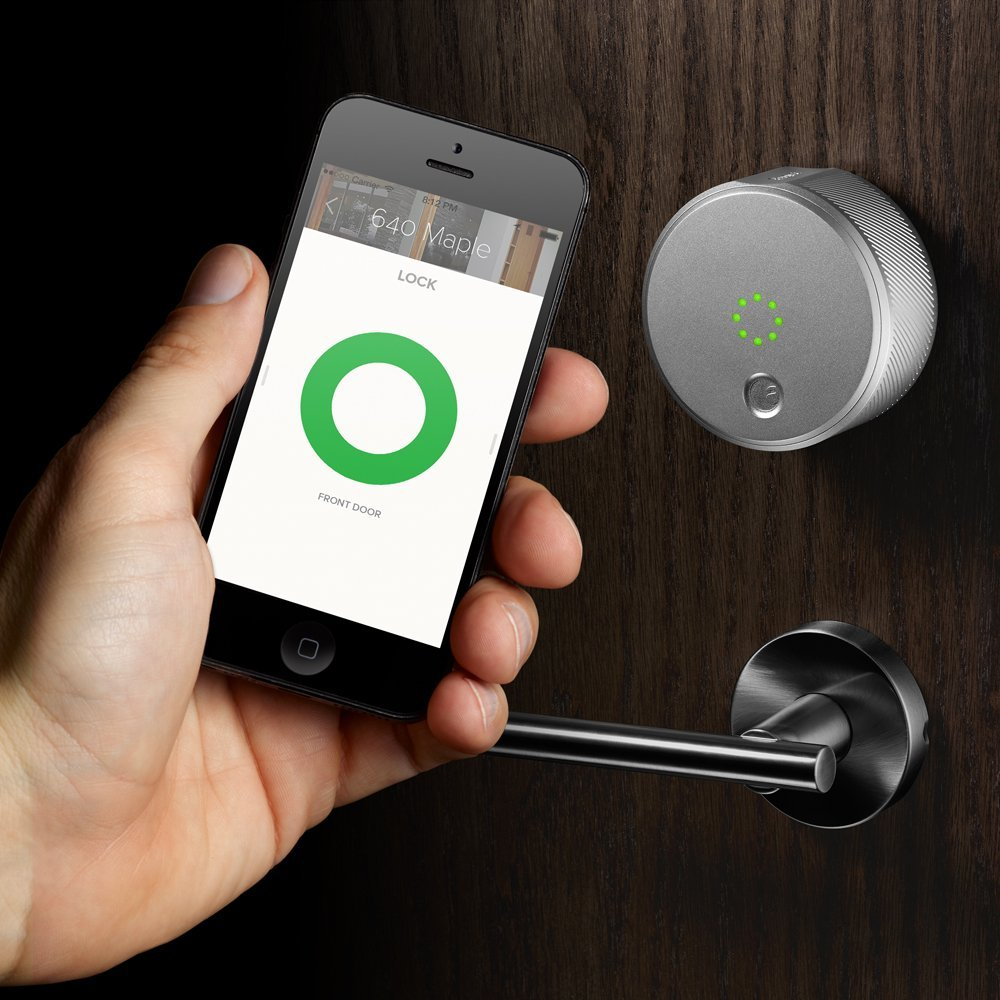 With the August Smart Lock, you'll never get locked out, or have to run downstairs to let your friends in, again.